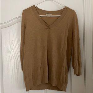 Ann Taylor LOFT tan sweater
